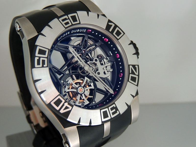 Roger Dubuis Easy Diver Skeleton Tourbillon