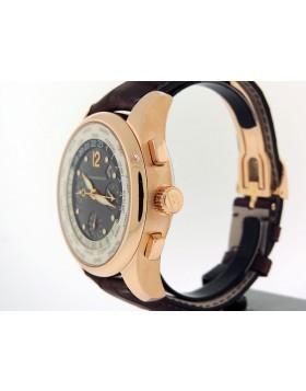 Girard Perregaux WW.TC. World Time Chronograph 49800-0-52-1041 18k Rose Gold