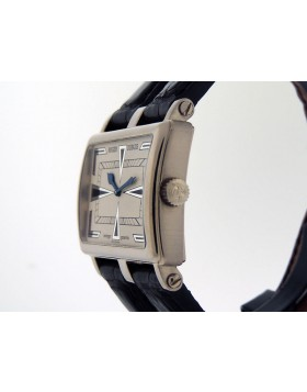 Roger Dubuis TooMuch T26 18k White Gold Art-Deco Dial Limited 28 piece Edition Retail $18,500