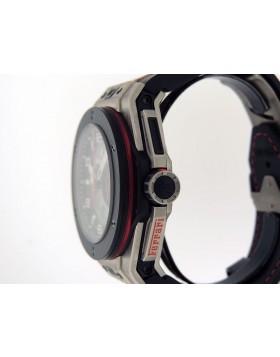 Hublot Big Bang Unico Ferrari Chronograph 401.NQ.0123.VR Titanium Special Ordered Clear Sapphire Cyrstal $28600 New