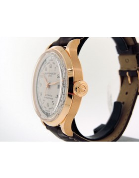 Baume & Mercier Capeland World Timer MOA10107 18k Rose Gold