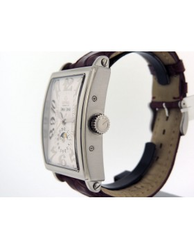 Gevril Annual Calendar Moon Phase, 5030 White Dial Limited Edition Retail $6,995