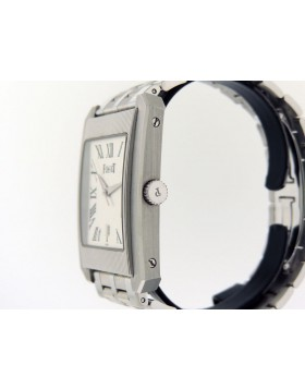Piaget Protocole XL 18k White Gold Bracelet 26100