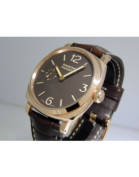 "Panerai Radiomir 1940 ""Oro Rosso"" 18k Red Gold PAM00513"