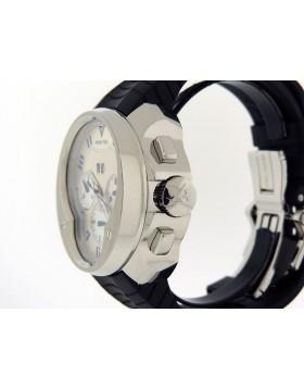 Franc Vila Chronograph Big Date FVa8ch Limited 88 piece Edition Silver w/ Blue Accent  Dial  Retail $22,000