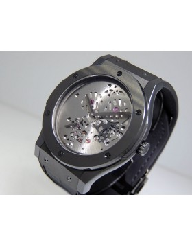 Hublot Classic Fusion Shawn Carter 515.CM.1040.LR.SHC13 Black Ceramic Modified Dial Limited Edition Design inspired by Jay Z. Very Rare Retail $17,900