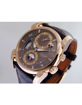 Parmigiani Kalpa Tonda Hemisphere 18k Rose Gold PFC-230-1001200H Retail 39,900