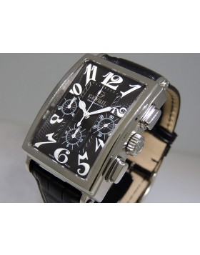 Gevril | Avenue of Americas | Chronograph Black | 5012 Retail $4,495 | Swiss Watches | ClassWatches