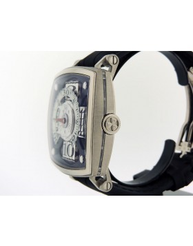 """MCT Sequencial One-S100 SQ 45 S100 WG 01 18k White Gold """"Jumping Sequential Hour"""""""