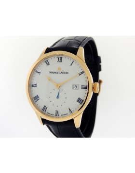 aac40d505d1 Maurice La Croix Masterpiece Tradition Rose Gold Small Seconde MP6907-PG101-113  ...