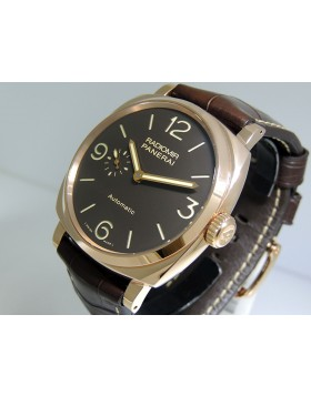 Panerai Radiomir 1940 3 Days Oro Rosso 18k Red Gold PAM00573 Retail $22,500