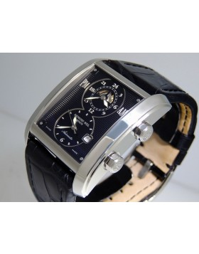 Raymond Weil Don Giovanni Cosi Grande Dual Time GMT 2888-STC-20001 New Retail $2,950