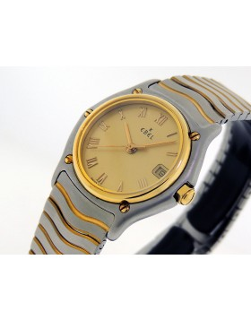 Ebel Lady's Classic SportWave 1087121 18k Yellow Gold/Steel 1980/95 $Priceless