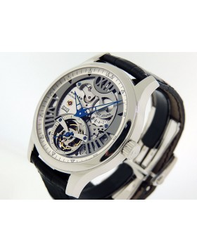 "Chopard LUC Tourbillon Skeleton Platinum ""LUC Quattro Tourbillon Skeleton Tech Twist"" 16/91901 Limited Edition"