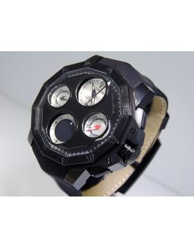 Corum Admiral's Cup Seafender 48 Off Center Chronograph 987.980.95/0061 AK04 Titanium Ltd 100 pic Edition Retail $14,300